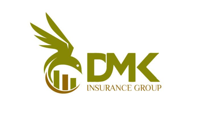 Modern Logo DesignDMK Logo Design