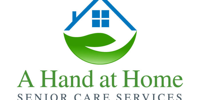 Modern Real Estate Logo Design For A Hand At Home Logo Design