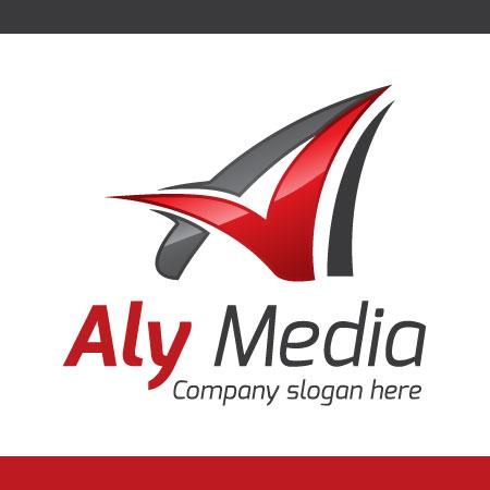 Aly-Media-Logo-Templete