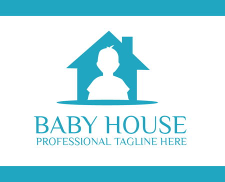 Logo Template Baby House