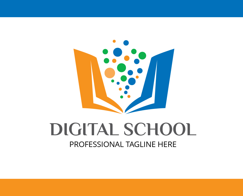 Vector Logo For Digital School