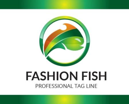 Logo Template Fashion Fish