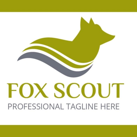 Logo Template Fox Scout