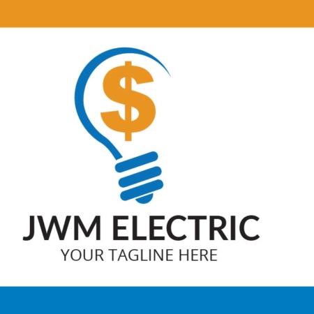 Logo Template Jwm Electric
