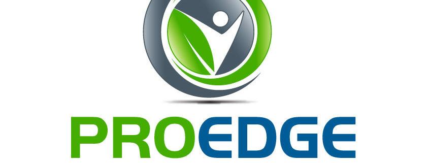 ProEdge Health Plans Logo Design