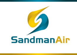 SandmanAir Logo Design By LogoDee