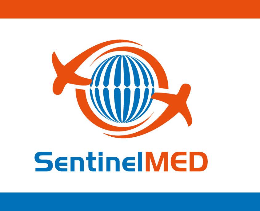 Sentinel Med Logo Design