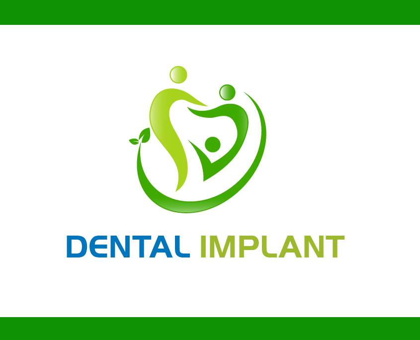 Dental Implant Logo Design