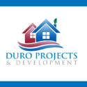 Real Estate Duro Projects Logo Design