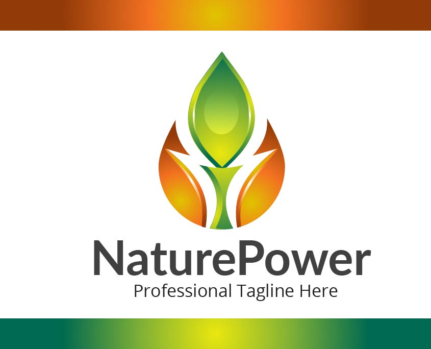 Logo Template Naiure Power