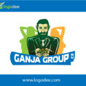 Custom Ganja Group Logo Design