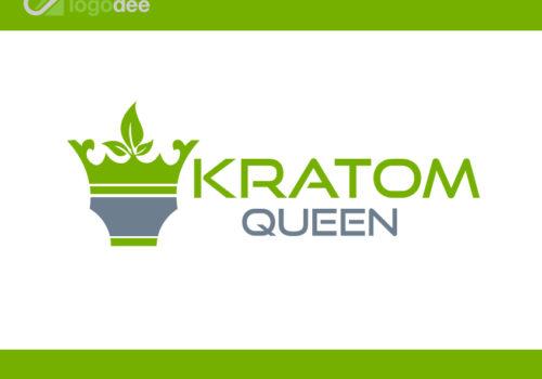 Kratom-Queen-Logo-Design