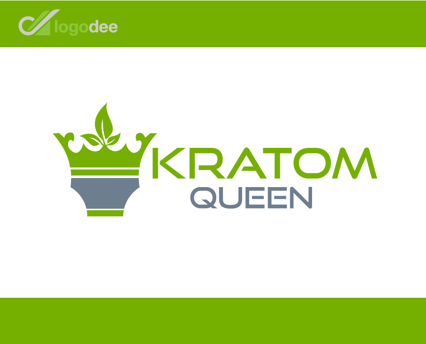 Kratom-Queen-Logo-Design
