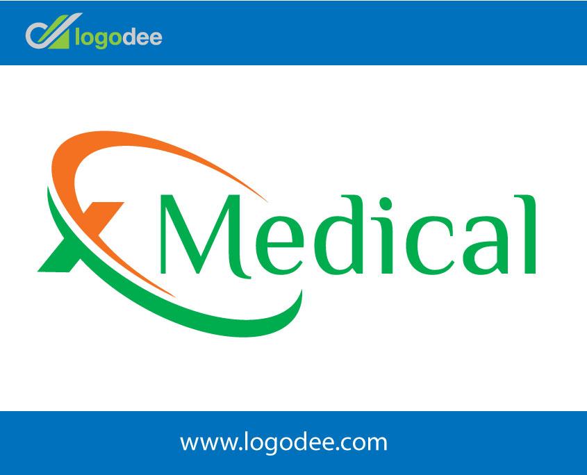 Xmedical-letter-X-logo-design