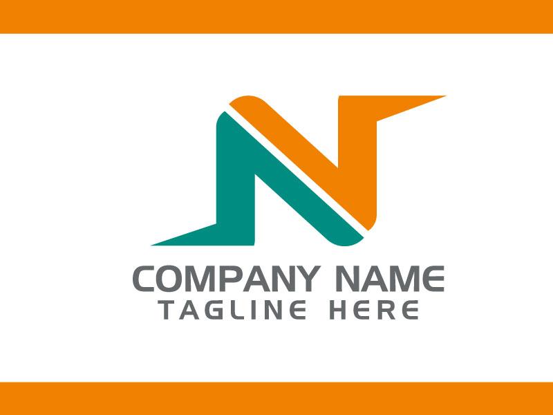 Logo Templates Letter N Modern Design