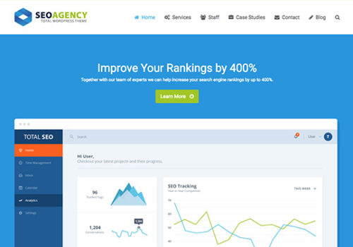 Modern Seo Company Website Design
