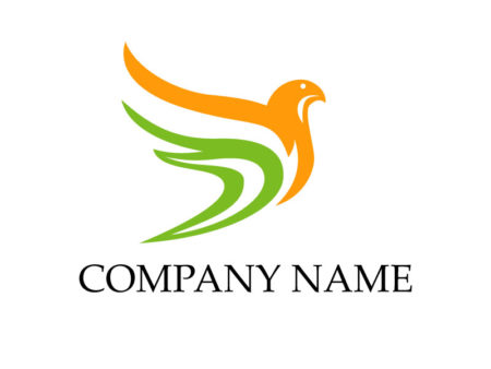 Creative pigeon logo templates