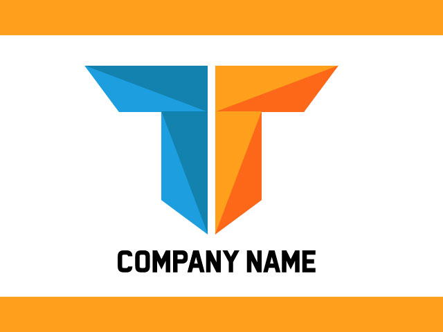 Initial Letter T Logo Free Download For Technology