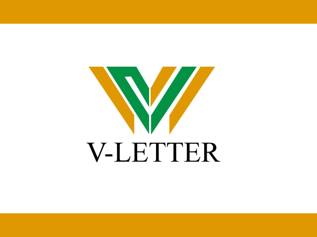 Creative V Letter Logo Design Download Free Vector