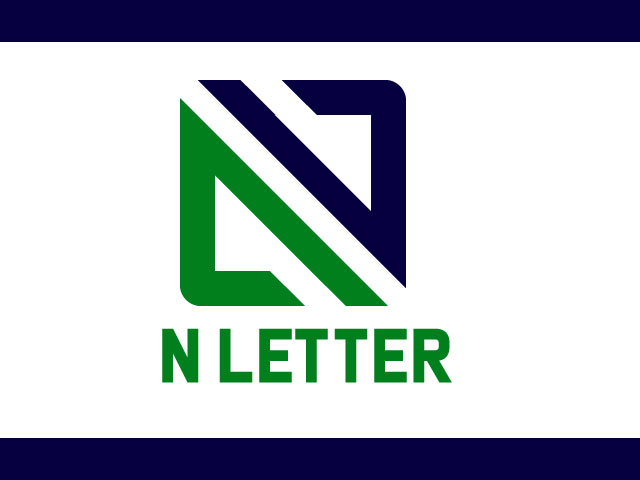 Custom N Letter Logo Design Vector Free Download