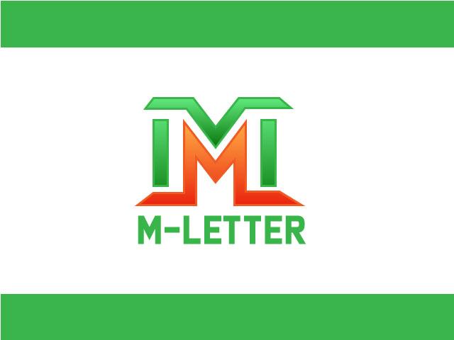 M Letter Logo Design Vector Free Download