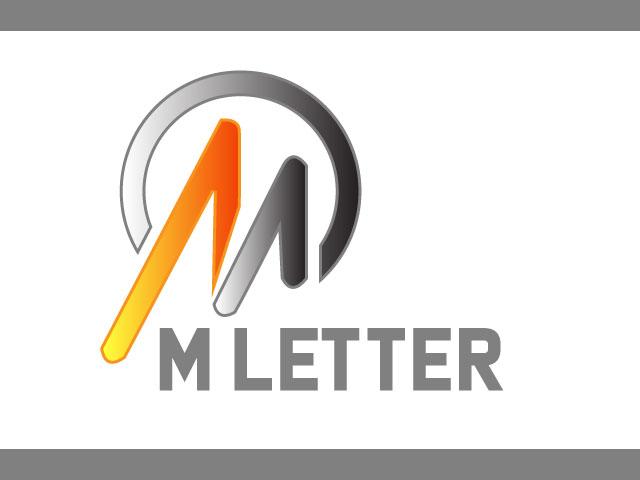 Minimalist Logo Design Letter M Free download vector