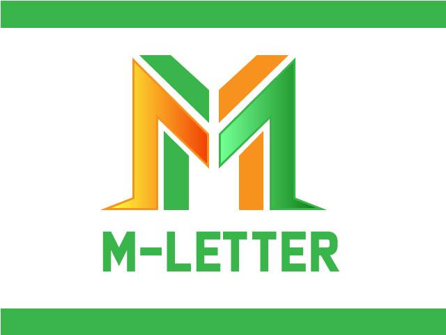 Modern M Letter Logo Design Download Free Vector File