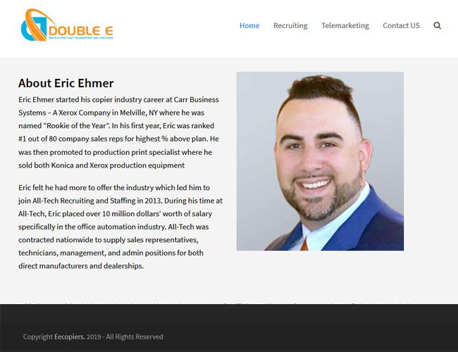 Eecopiers Modern Web Design