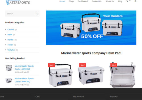 Website Design Marinerwatersports