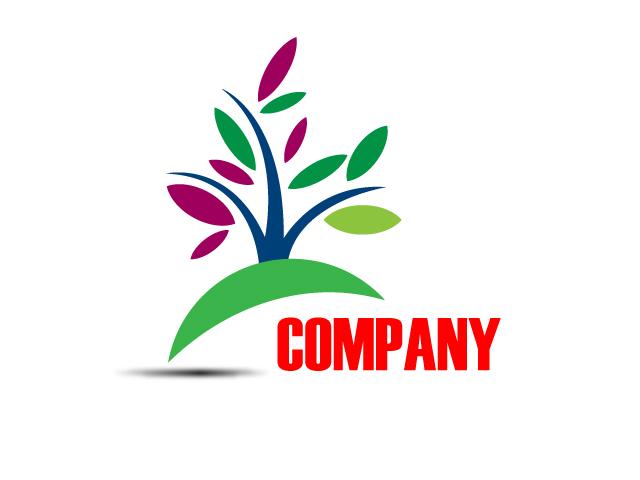 Nonprofit Business Tree Logo Design Vector Free Download