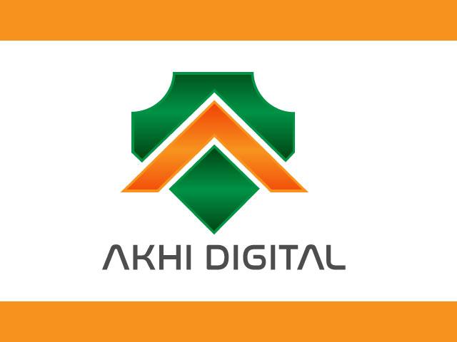 AKHI DIGITAL Modern Free Logo Design