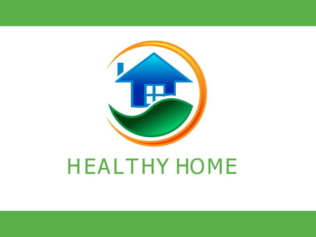 Real Estate Logo For Healthy Home
