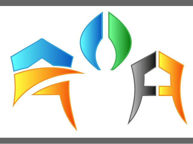 Letter A Logo Design Vector Ai File