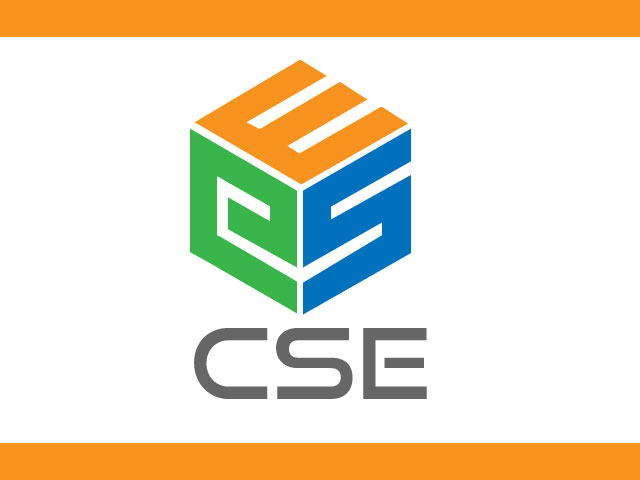 Creative Letter CSE Logo Design