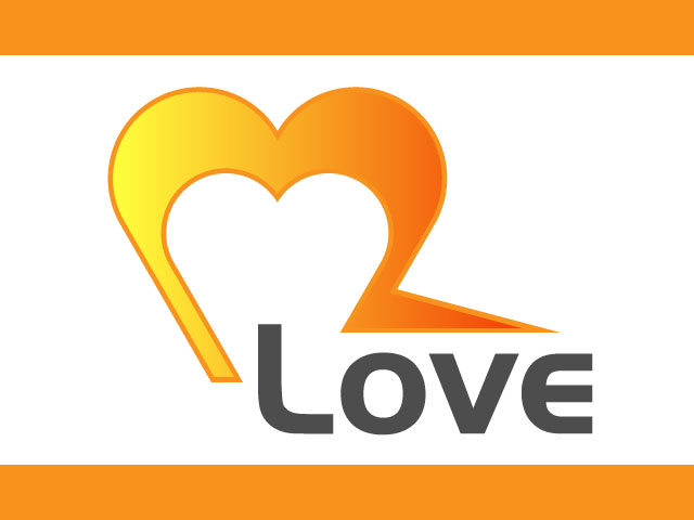Modern Love Free Logo Design