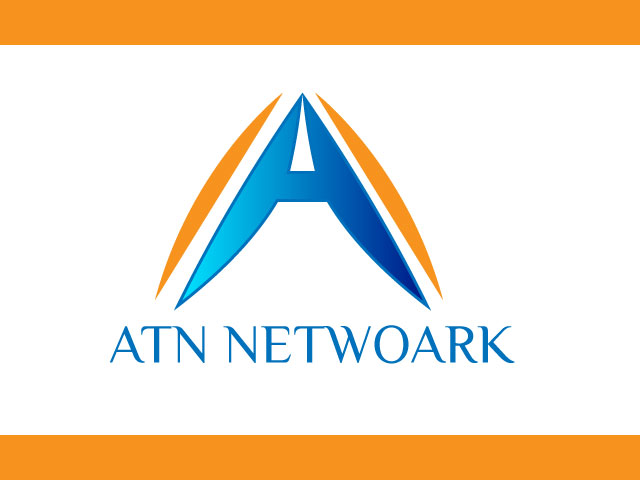 ATN Network Logo Design Vector
