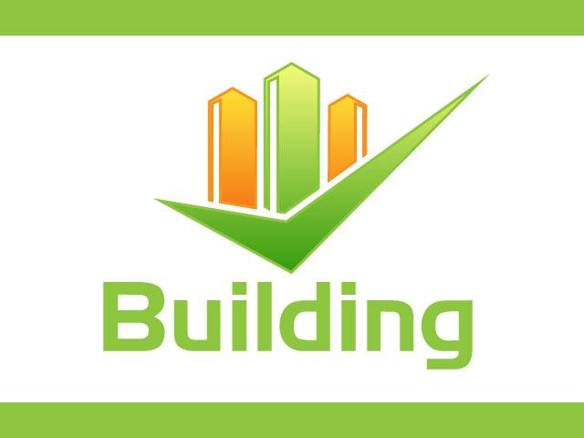 Free Logo Design For Real Estate Building Logo. Merged