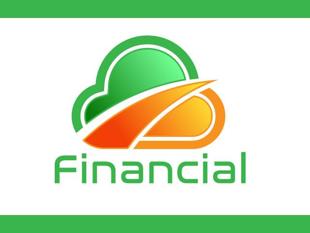 Sky Shape Financial Logo Design Ideas