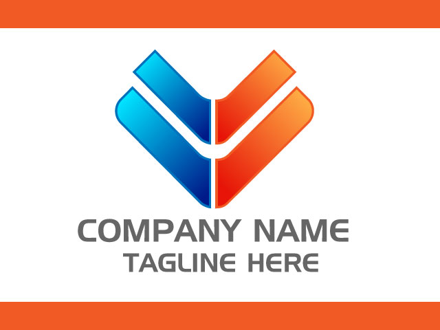 Letter V Logo Design Free Vector File