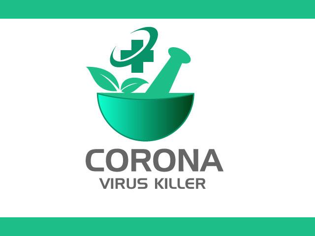 Logo For Coronavirus Killer