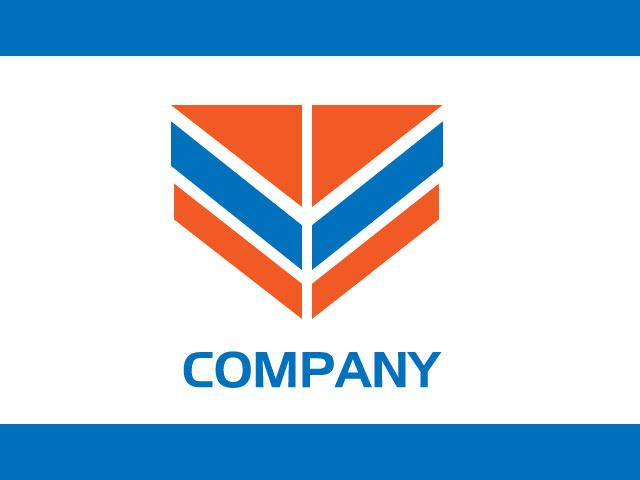 Letter V Company Logo Design