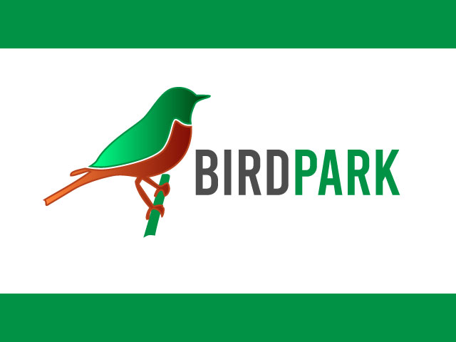Bird Park Modern Logo Design