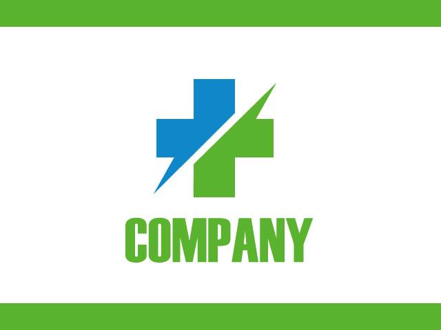 Creative Medical Logo Design Vector