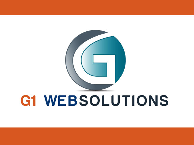 G1 WEBSOLUTIONS Vector Logo Design