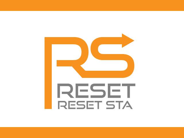 Adobe Illustrator logo design letter rs vector