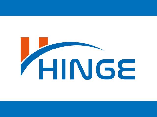 HINGE Letter H Logo Design Idea Vector