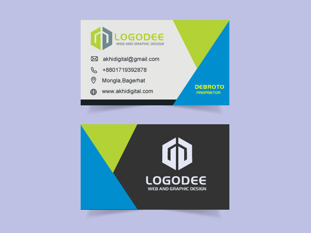 New Business Card Design Free