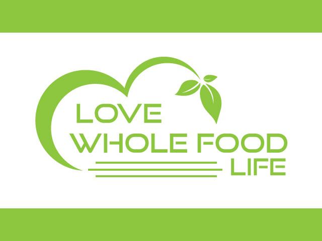 Love Whole Foods File Logo Design