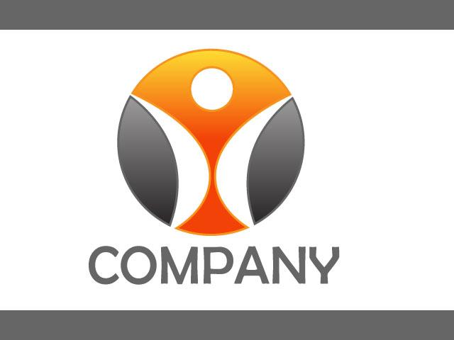 Human Life Vector Logo Design