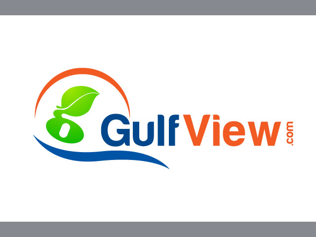 Guif View Free Logo Design Vector